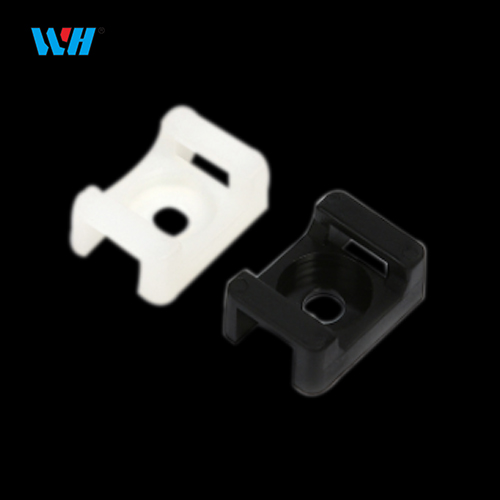 saddle type tie mounts